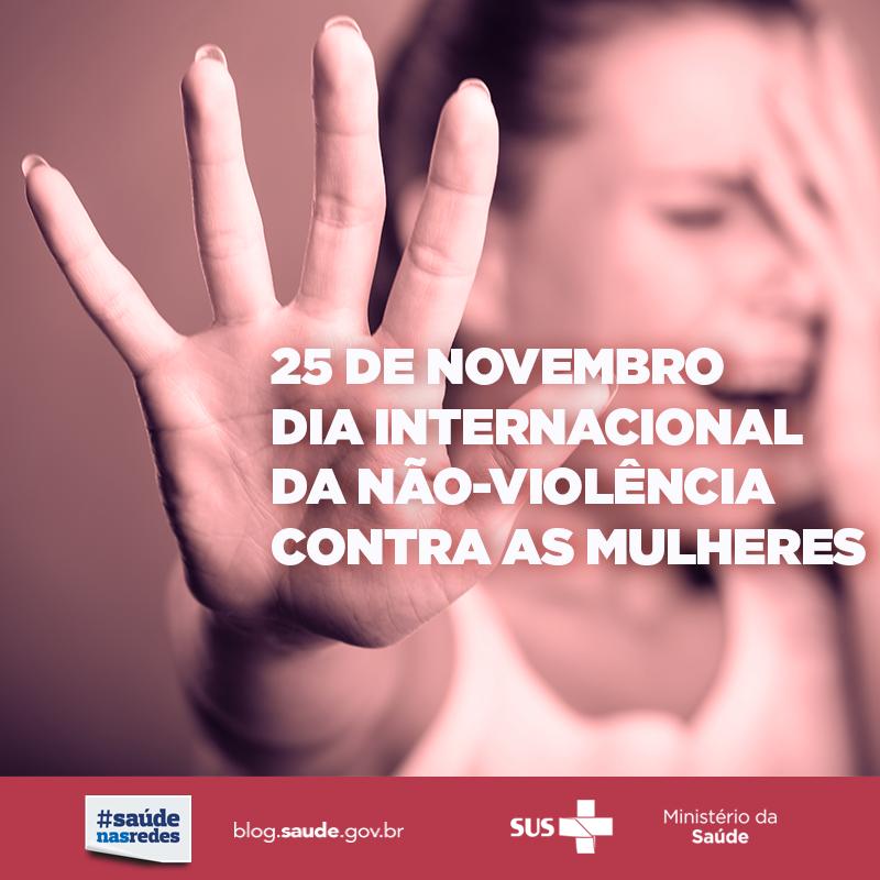 cfe5428c6ee No Dia da Não Violência contra a Mulher