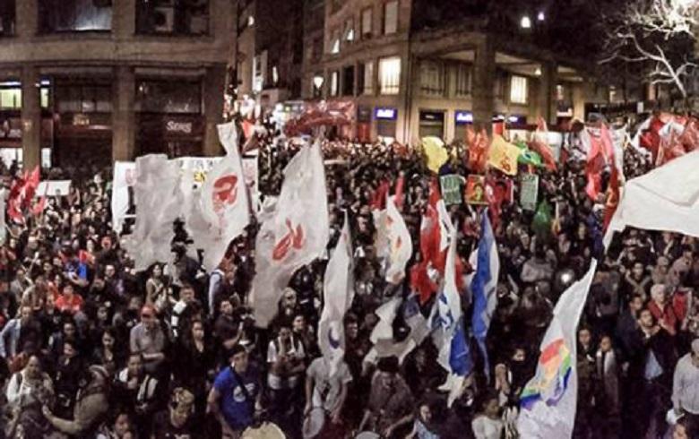 Manifestação Porto Alegre