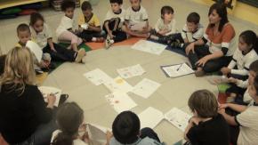 roda de interação na escola