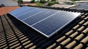 Placas de energia solar em Palmas.