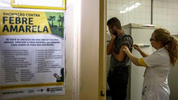 vacinacao febre amarela